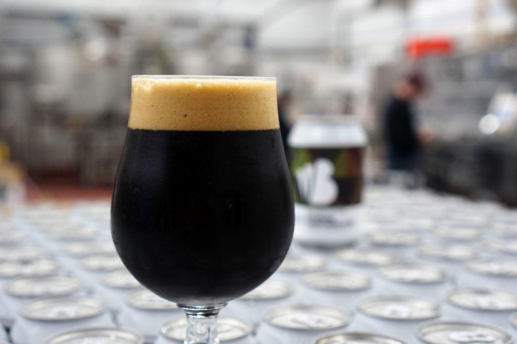 Tasting Eternal Darkness, the Imperial Stout, brewed by Swedish Craft Brewery Beerbliotek.