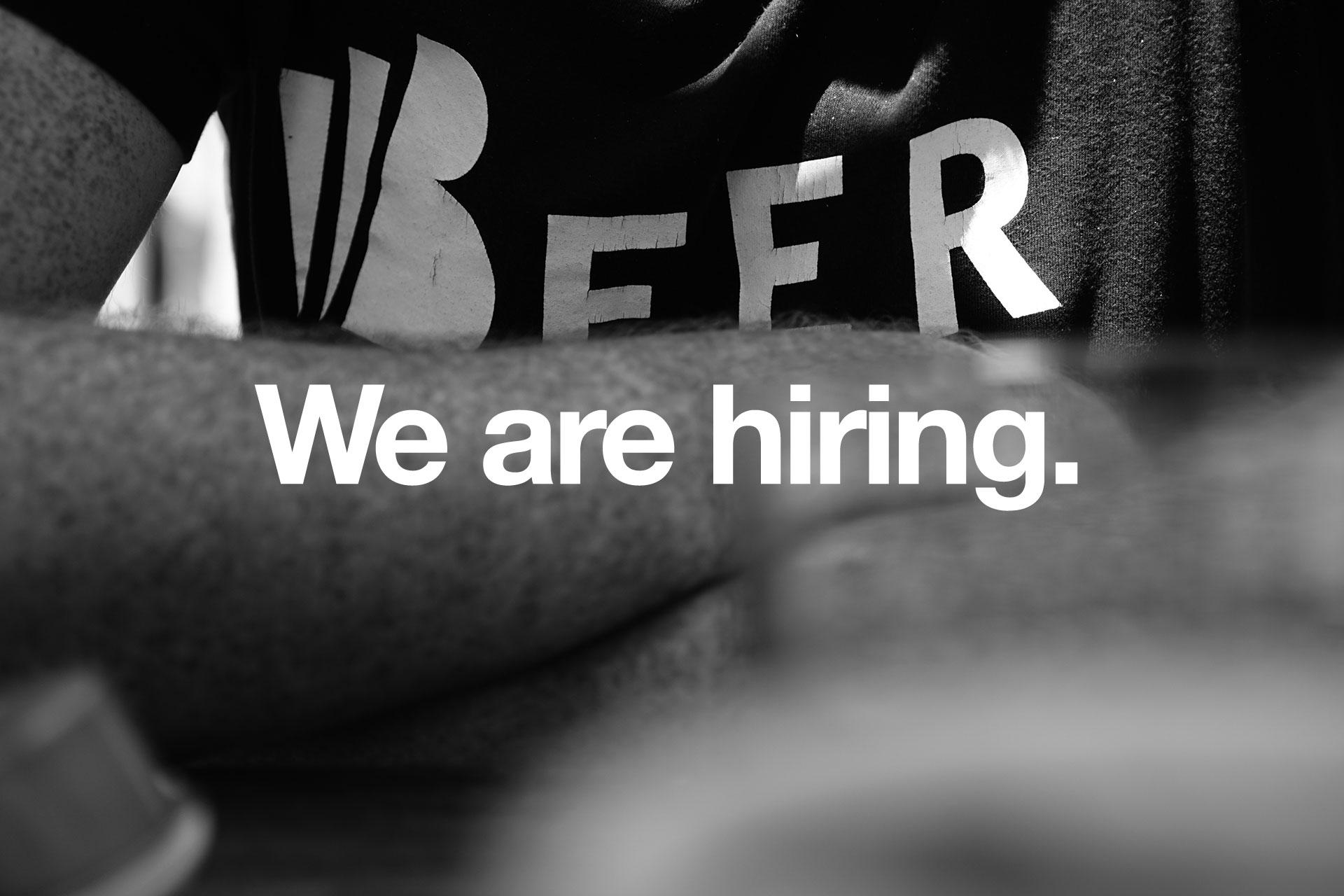 Beerbliotek We are hiring