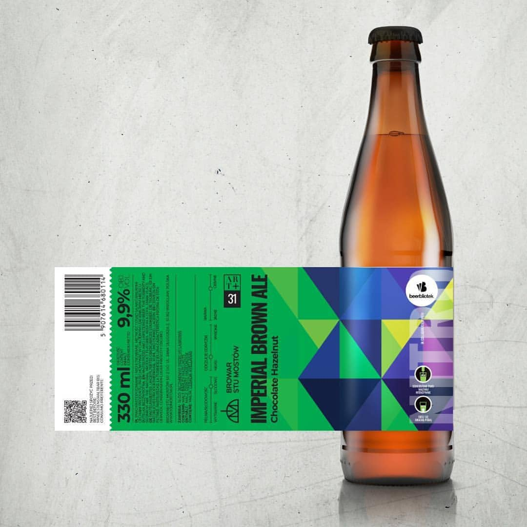 Collaboration with Swedish craft brewery, Beerbliotek, Gothenburg and Polish brewery, Browar Stu Mostow. It is an Imperial Brown Ale with hazelnuts and chocolate.