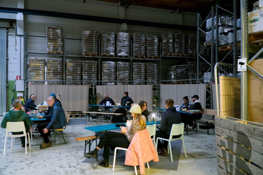 Beerbliotek Tap Room in the Brewery Warehouse