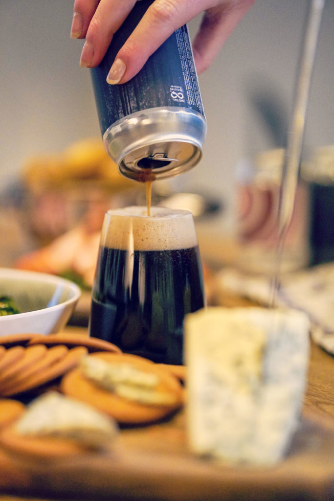 Beerbliotek Craft Brewery, Christmas lunch 2020, beer recommendations for a Swedish Christmas dinner table (Julbord).
